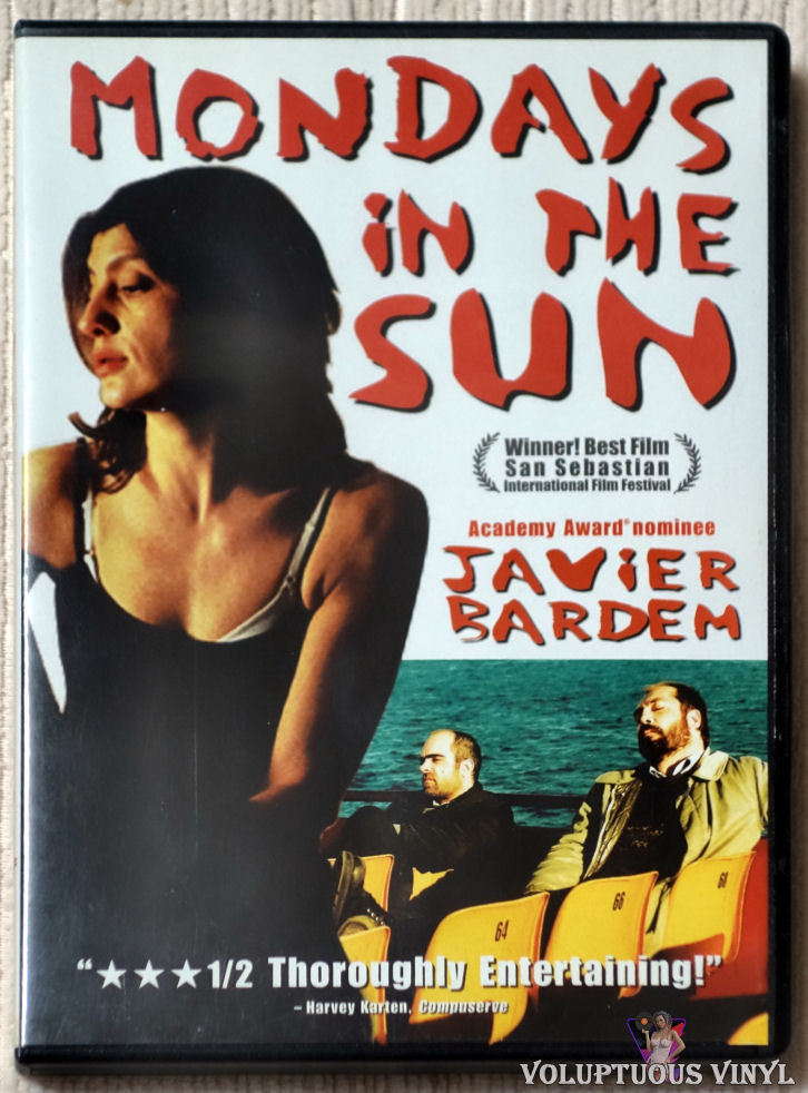 Mondays In The Sun DVD front cover