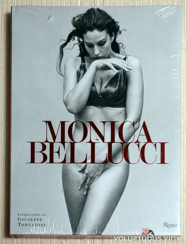 Monica Bellucci - Hardcover Book - Front