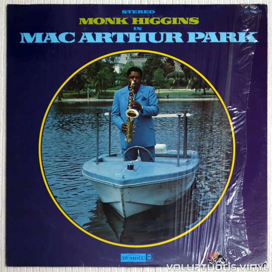 Monk Higgins ‎– Mac Arthur Park - Vinyl Record - Front Cover