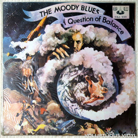 The Moody Blues ‎– A Question Of Balance - Vinyl Record - Front Cover