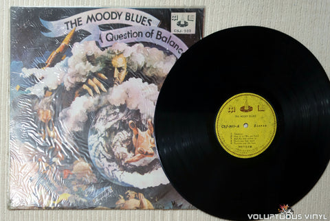 The Moody Blues ‎– A Question Of Balance - Vinyl Record