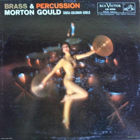 Morton Gould ‎– Brass & Percussion vinyl record front cover