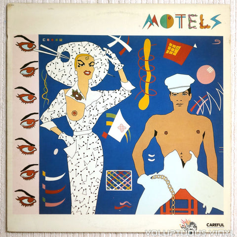 The Motels ‎– Careful - Vinyl Record - Front Cover