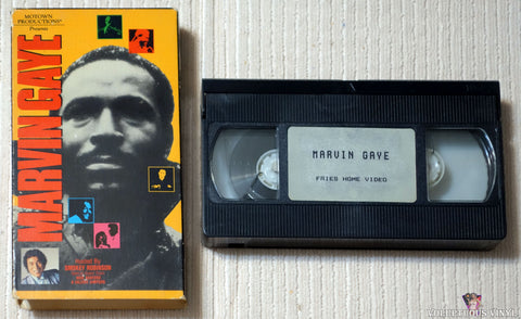 Motown Productions Presents: Marvin Gaye Hosted by Smokey Robinson VHS tape