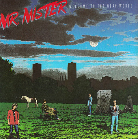 Mr. Mister ‎– Welcome To The Real World (1985) Cheap Vinyl Record