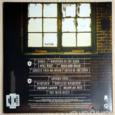 Mumford & Sons ‎– Babel - Vinyl Record - Back Cover