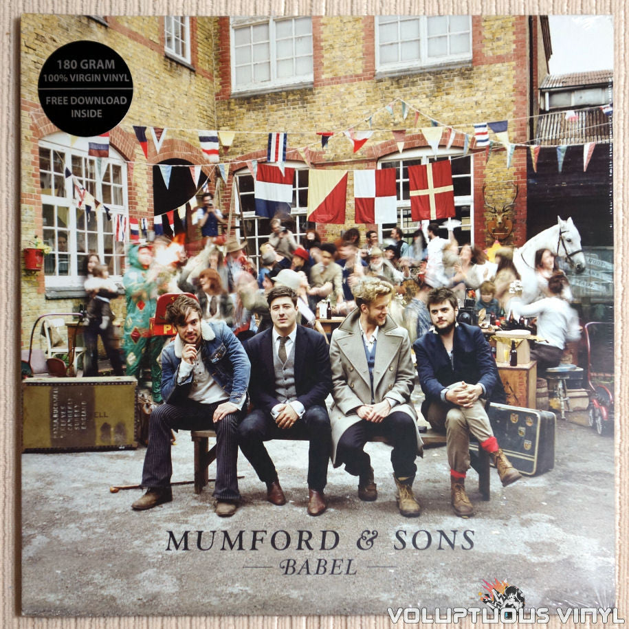 Mumford & Sons ‎– Babel - Vinyl Record - Front Cover