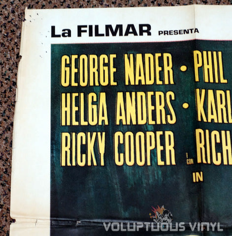 Murderers Club of Brooklyn 1970 Italian 2F Poster - Top Left
