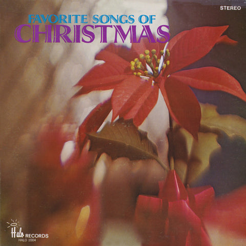 The Music City Singers ‎– Favorite Songs Of Christmas (1990) Vinyl Record