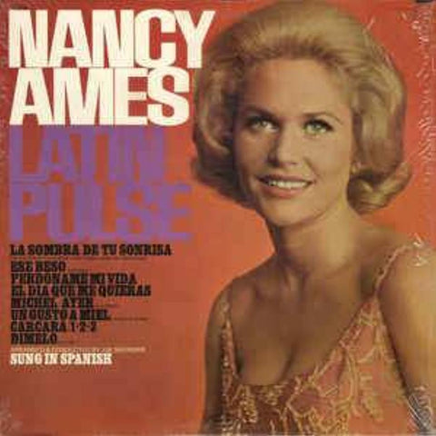 Nancy Ames ‎– Latin Pulse - Vinyl Record