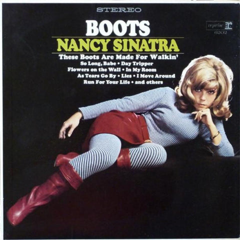 Nancy Sinatra ‎– Boots vinyl record front cover