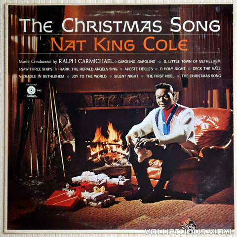 Nat King Cole ‎– The Christmas Song - Vinyl Record - Front Cover