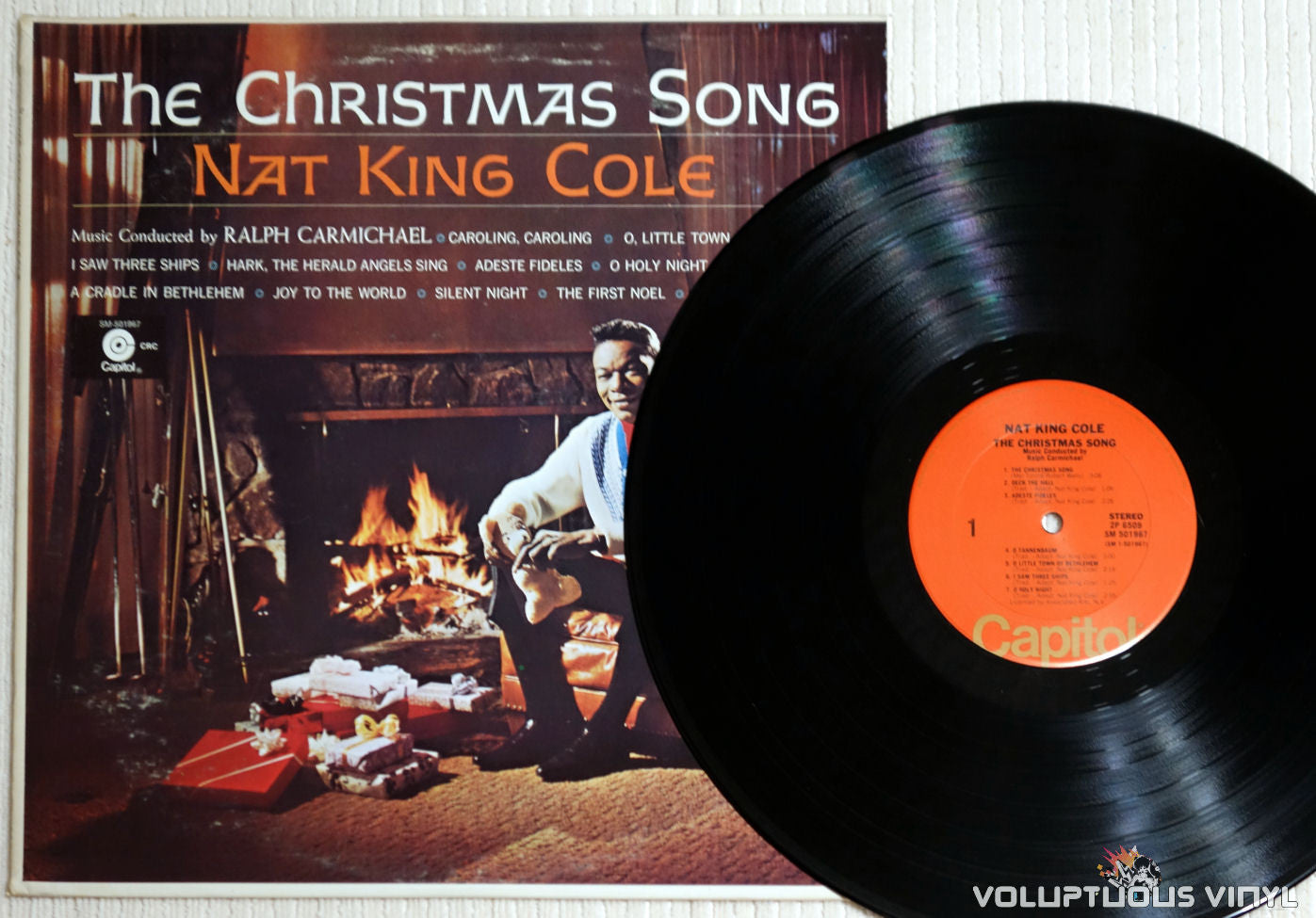 Nat King Cole – The Christmas Song (1970's) Vinyl – Voluptuous ...