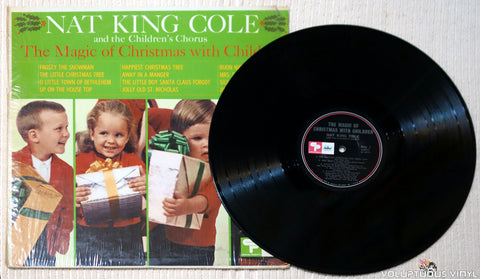 Nat King Cole And The Children's Chorus ‎– The Magic Of Christmas With Children - Vinyl Record