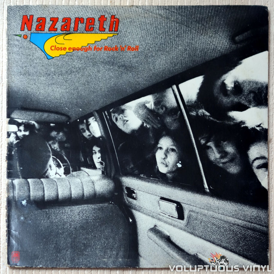 Nazareth ‎– Close Enough For Rock 'N' Roll - Vinyl Record - Front Cover