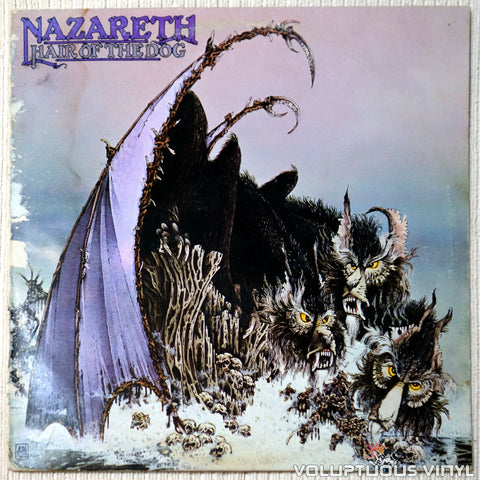 Nazareth ‎– Hair Of The Dog - Vinyl Record - Front Cover