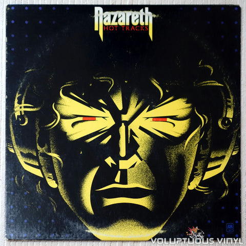 Nazareth ‎– Hot Tracks - Vinyl Record - Front Cover
