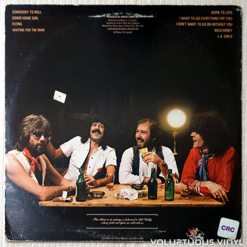 Nazareth ‎– Play'n' The Game - Vinyl Record - Back Cover