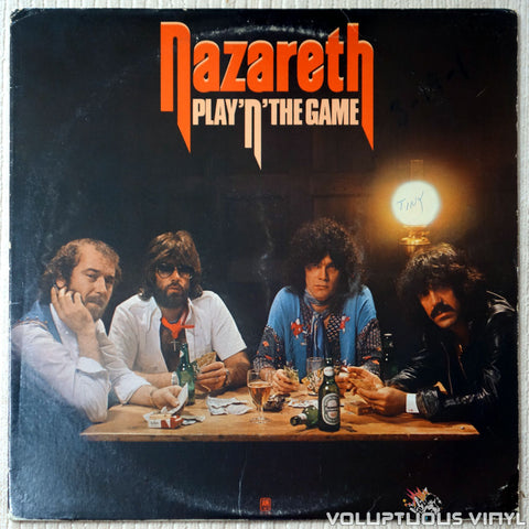 Nazareth ‎– Play'n' The Game - Vinyl Record - Front Cover