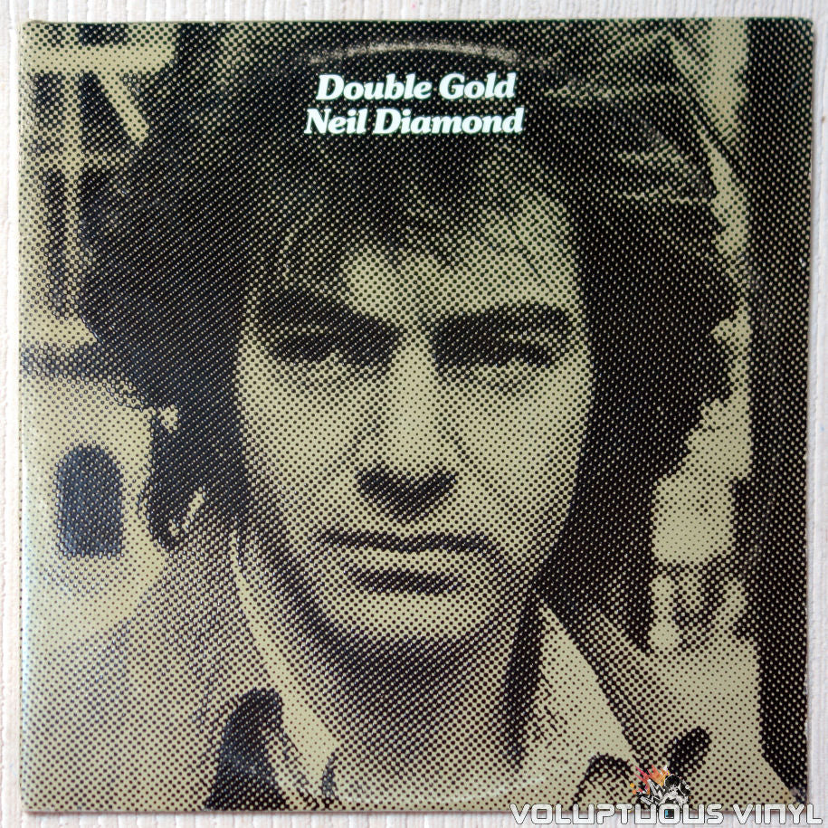 Neil Diamond ‎– Double Gold - Vinyl Record - Front Cover