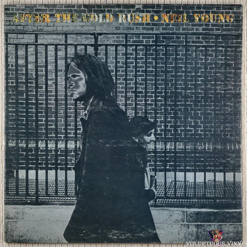 Neil Young ‎– After The Gold Rush vinyl record front cover
