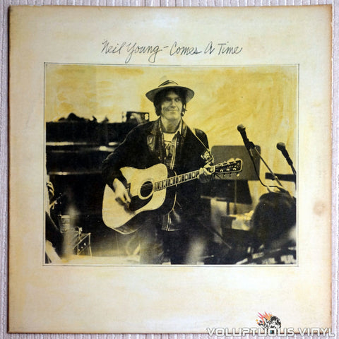 Neil Young ‎– Comes A Time - Vinyl Record - Front Cover