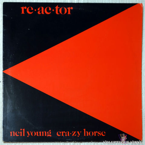 Neil Young & Crazy Horse ‎– Reactor (1981)