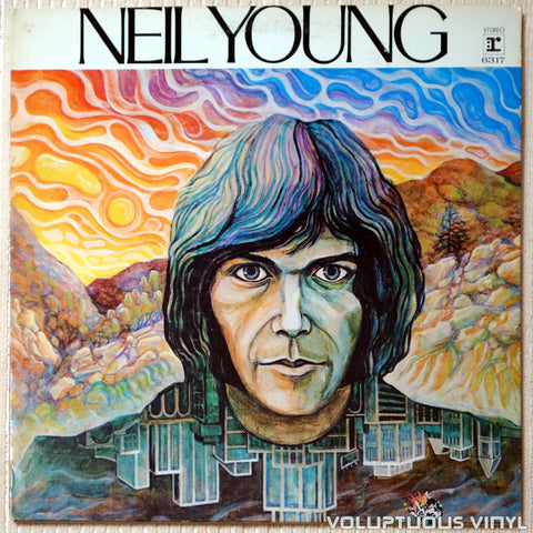 Neil Young ‎– Neil Young - Vinyl Record - Front Cover