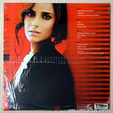 Nelly Furtado ‎– Loose - Vinyl Record - Back Cover