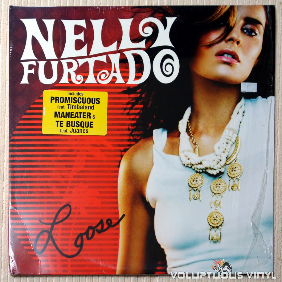 Nelly Furtado ‎– Loose - Vinyl Record - Front Cover