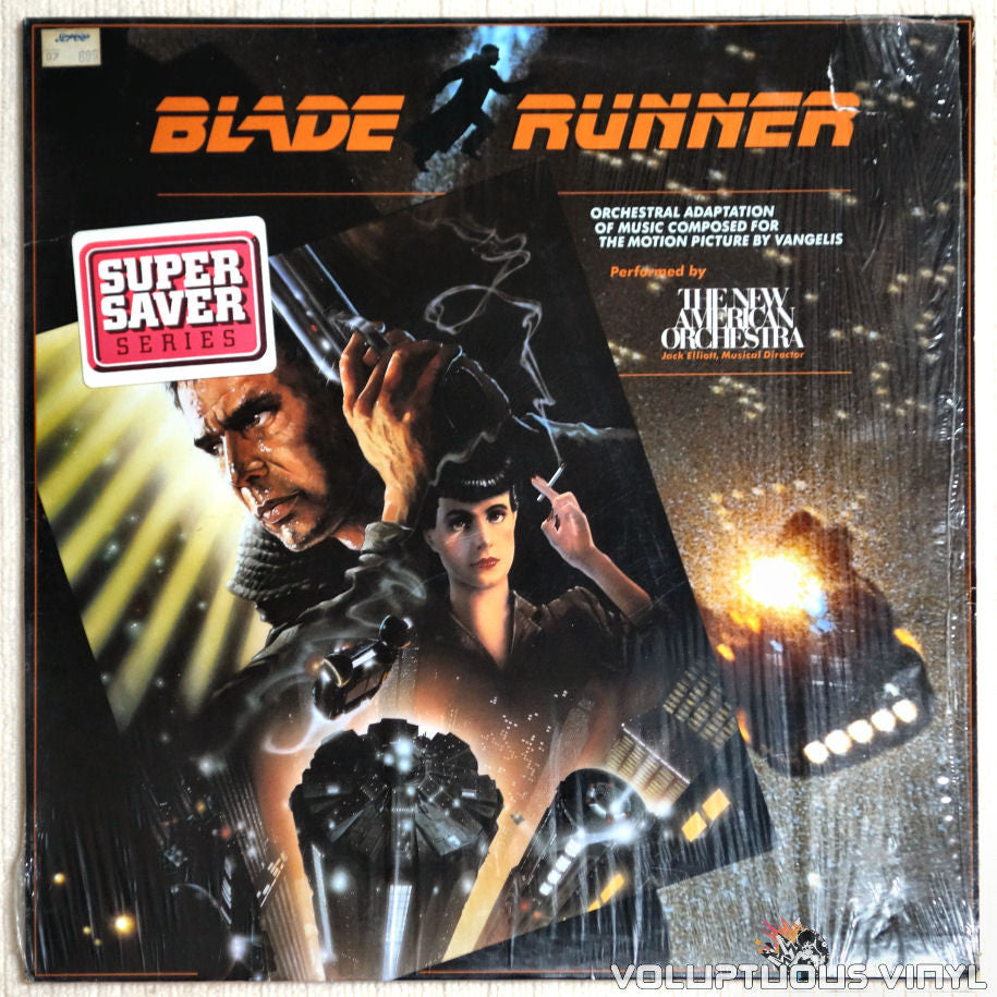 The New American Orchestra ‎– Blade Runner - Vinyl Record - Front Cover