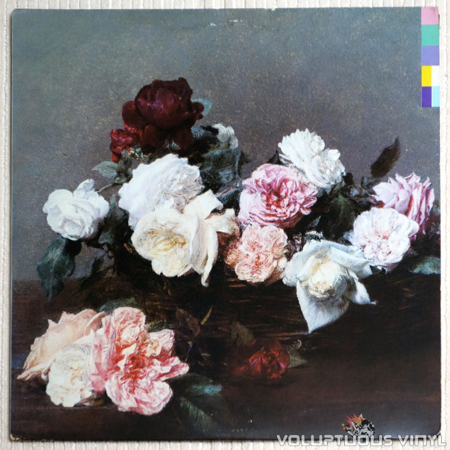 New Order ‎– Power, Corruption & Lies - Vinyl Record - Front Cover