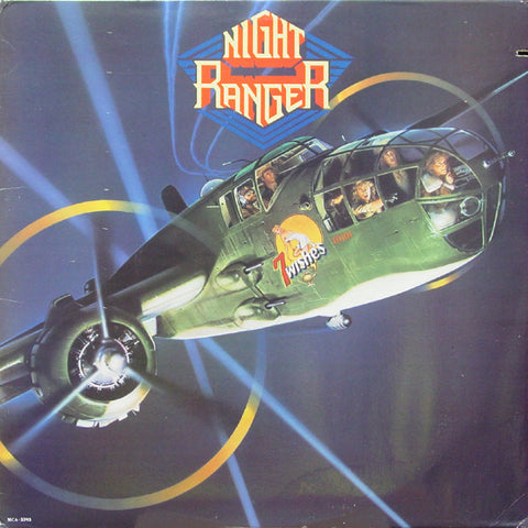 Night Ranger ‎– 7 Wishes (1985) Cheap Vinyl Record