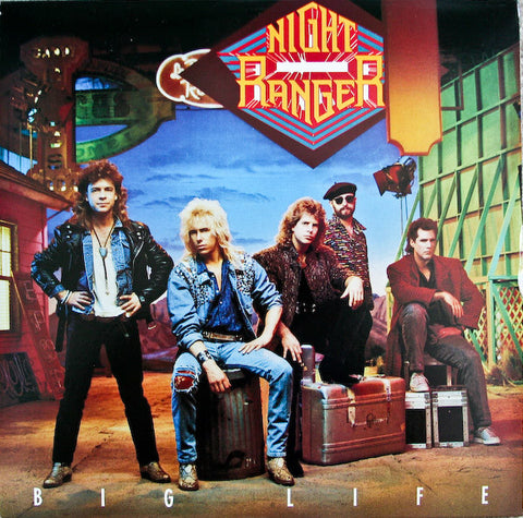 Night Ranger ‎– Big Life (1987) Cheap Vinyl Record