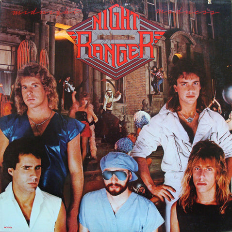 Night Ranger ‎– Midnight Madness (1983) Cheap Vinyl Record