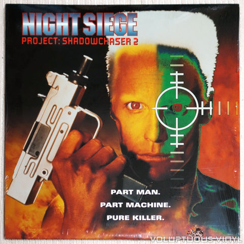 Night Siege: Project Shadowchaser 2 - Laserdisc - Front Cover