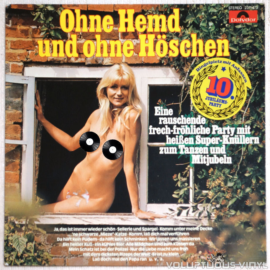 No Shirt And Without Panties Part 10 - Vinyl Record - Front Cover