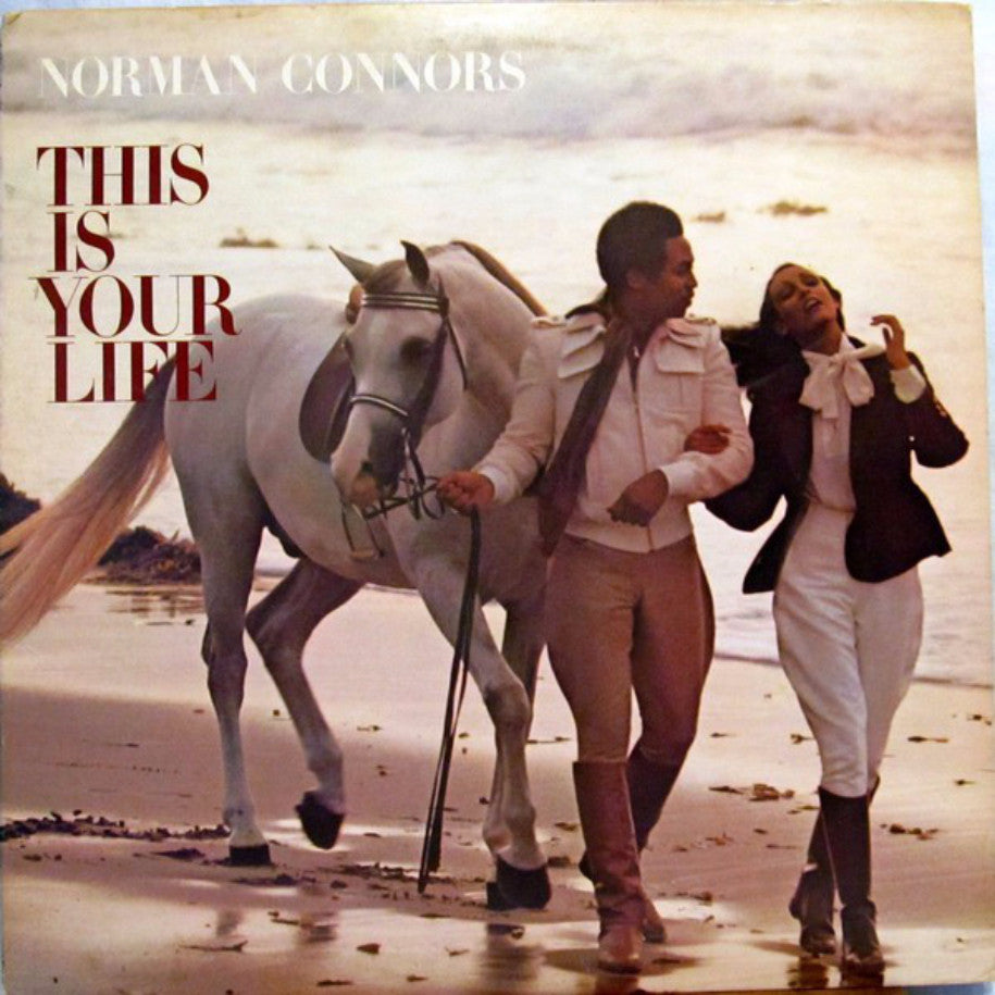 Norman Connors And The Starship Orchestra ‎– This Is Your Life - Vinyl Record - Front Cover