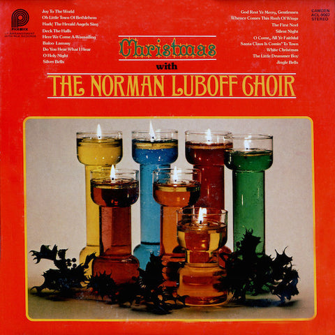 Norman Luboff Choir ‎– Christmas With The Norman Luboff Choir (1977) Canada Press Vinyl Record