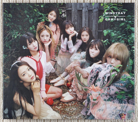 Oh My Girl ‎– Windy Day (2016) Korean Press