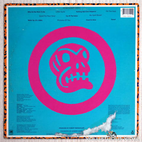 Oingo Boingo ‎– Good For Your Soul - Vinyl Record - Back Cover