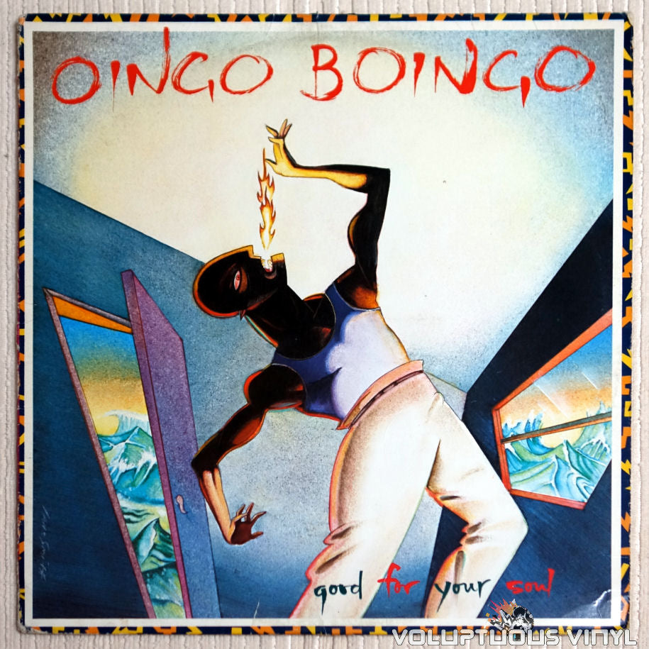 Oingo Boingo ‎– Good For Your Soul - Vinyl Record - Front Cover