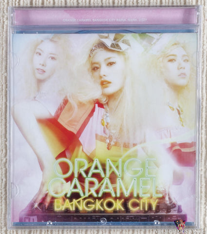 Orange Caramel ‎– Bangkok City (2011) Korean Press, SEALED