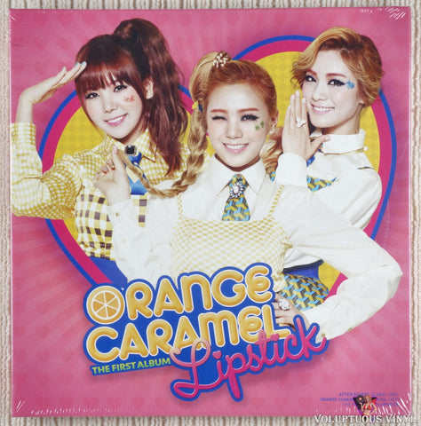 Orange Caramel ‎– Lipstick (The First Album) (2012) Korean Press, SEALED