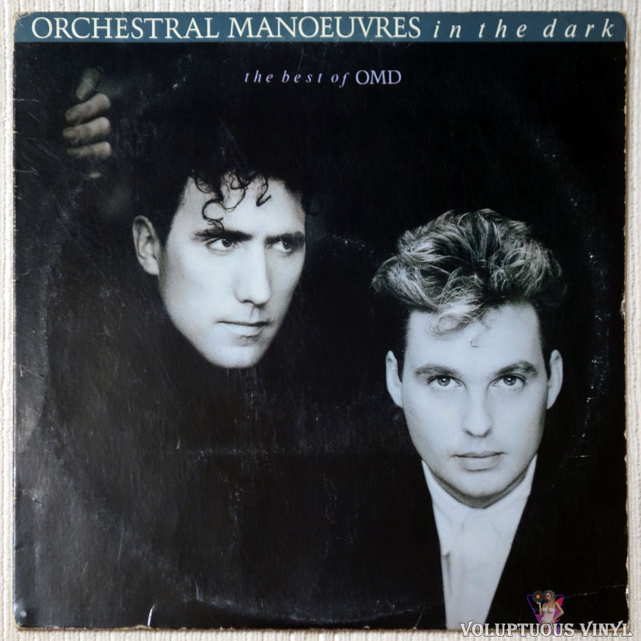Orchestral Manoeuvres In The Dark ‎– The Best Of OMD vinyl record front cover