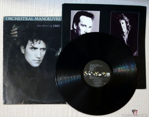 Orchestral Manoeuvres In The Dark ‎– The Best Of OMD vinyl record