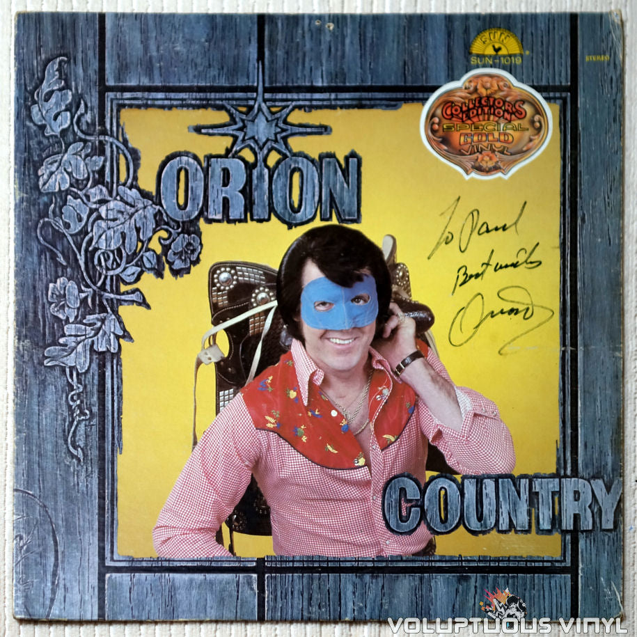 Orion ‎– Country - Vinyl Record - Front Cover
