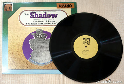 Orson Welles ‎– The Shadow - Vinyl Record