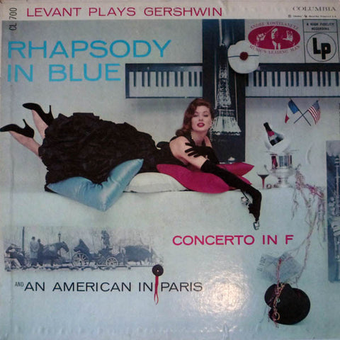 Oscar Levant ‎– Levant Plays Gershwin (1955) Cheap Vinyl Record