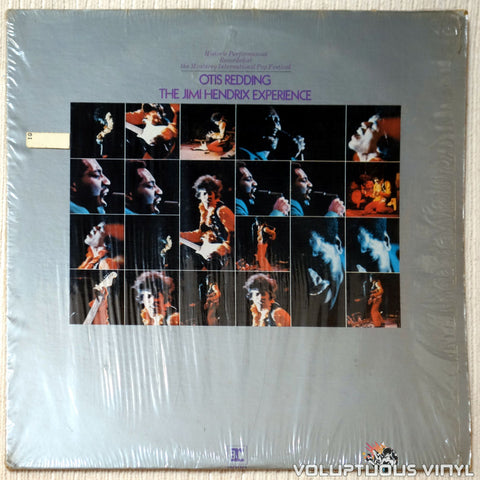 Otis Redding / The Jimi Hendrix Experience ‎– Historic Performances Recorded At The Monterey International Pop Festival vinyl record front cover